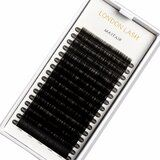 0,15 mm eyelash extensions - 0,15 C-Curl Single Size Classic Mayfair Mink eyelash extensions
